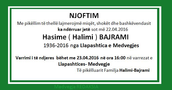 hasime halimi_bajrami fb